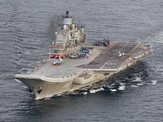 Ook Russisch vliegdekschip keert terug