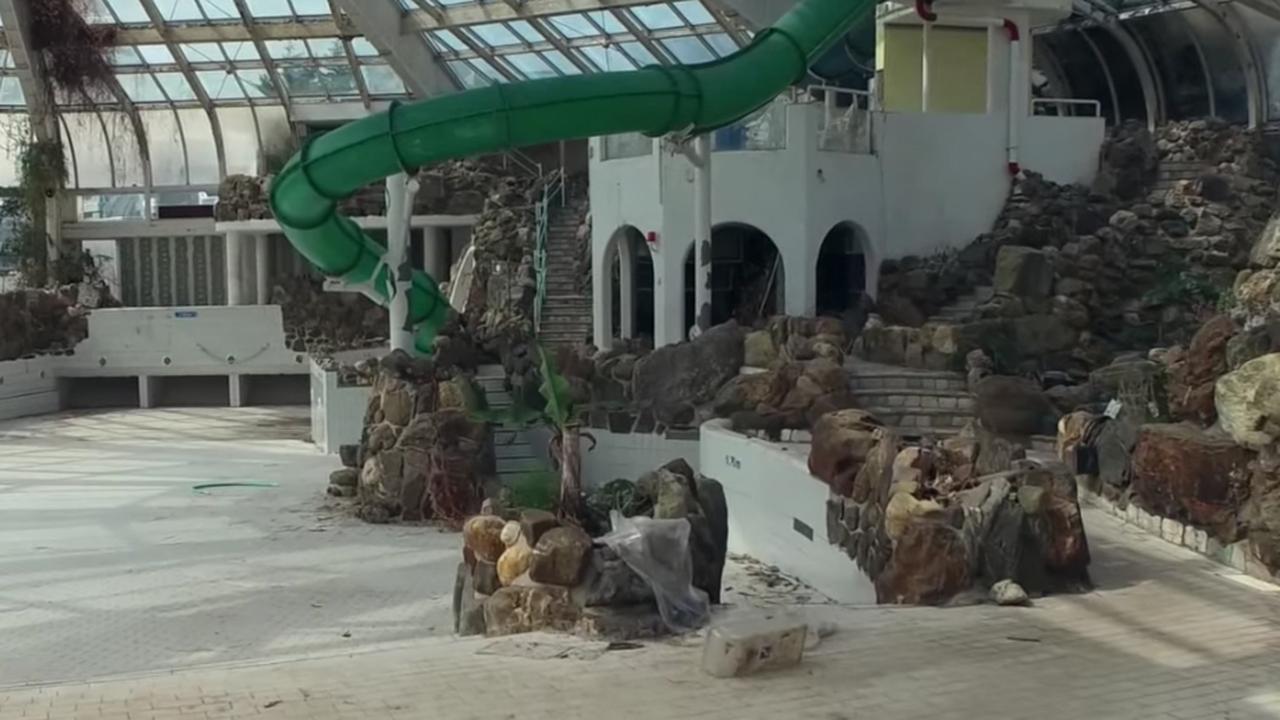 Zo ziet het voormalig zwemparadijs Tropicana er nu uit