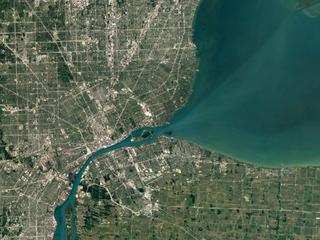 Foto's gemaakt met nieuwe satelliet Landsat 8