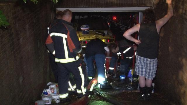 Wateroverlast in Drenthe na noodweer