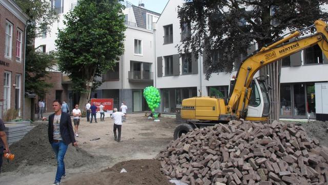 Alle woningen Gasthuyspoort opgeleverd voor bouwvak