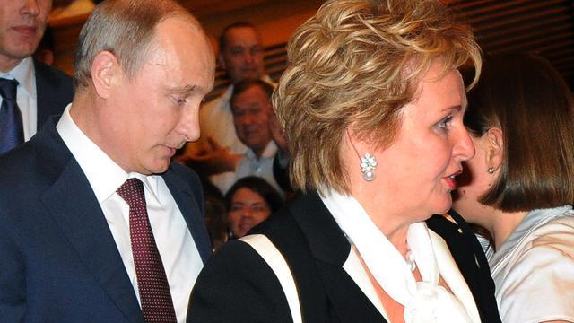 'Ex-vrouw president Poetin heeft 21 jaar jongere vriend'