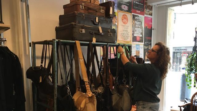 Reportage: Marjolijn van vintagewinkel Hartendief