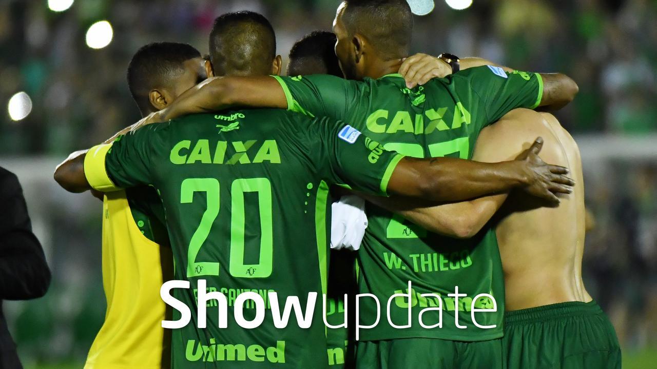 Show Update: Voetbalwereld in rouw