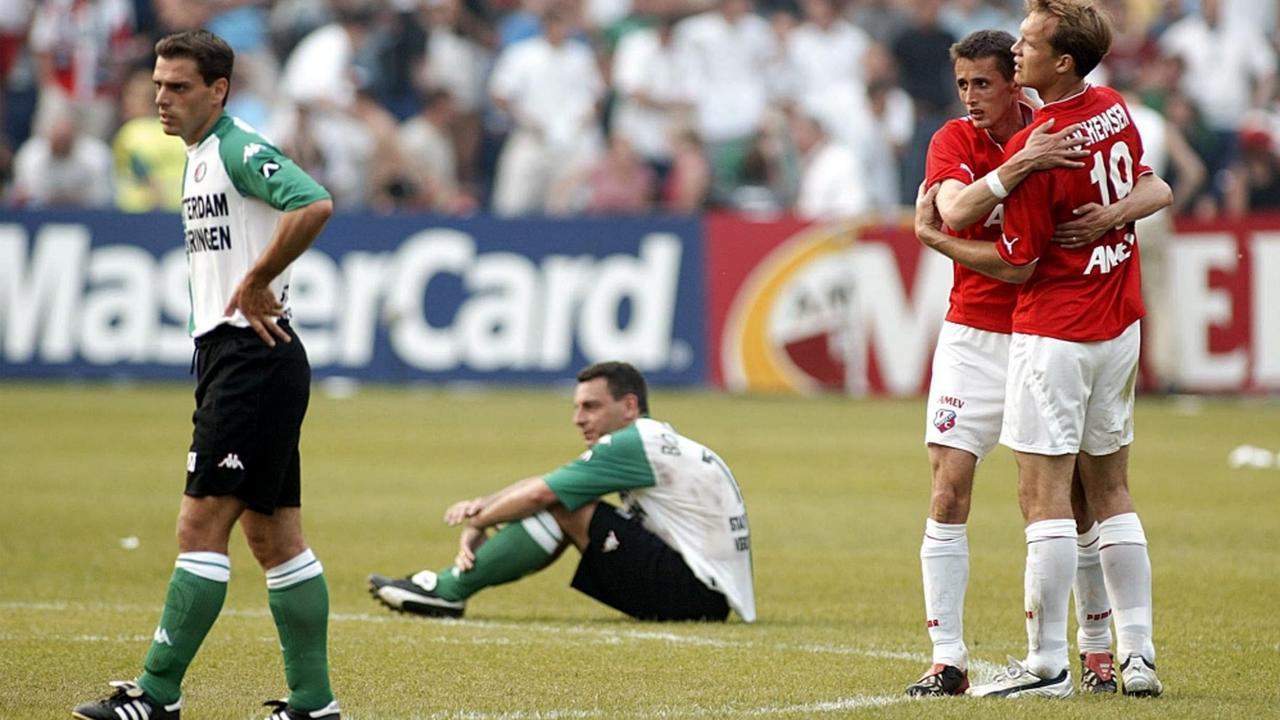 Bekerfinale 2003: FC Utrecht-Feyenoord