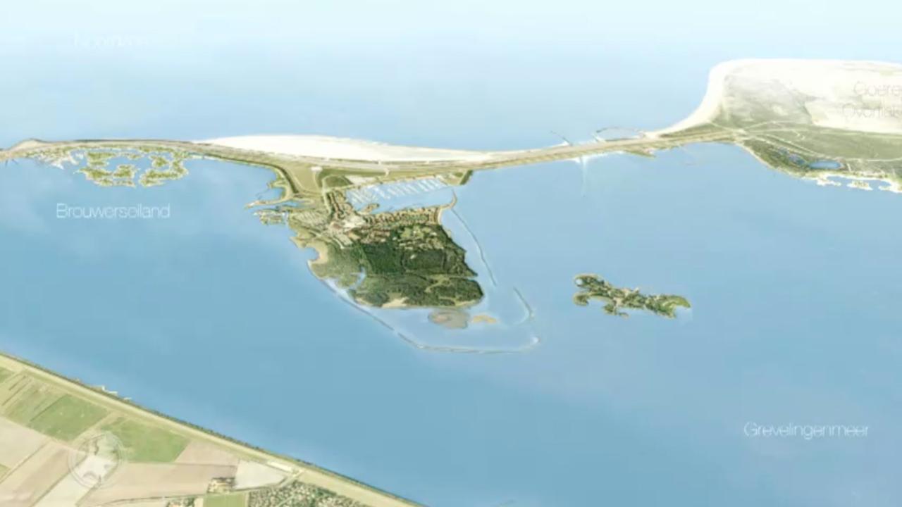 Worden er eilandjes opgespoten voor villa's in Grevelingenmeer?