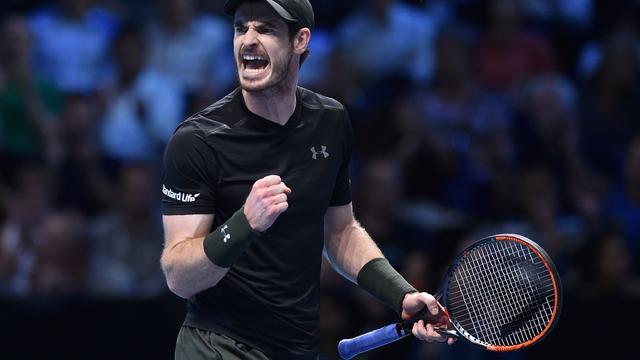 Murray begint ATP World Tour Finals met zege op CIlic