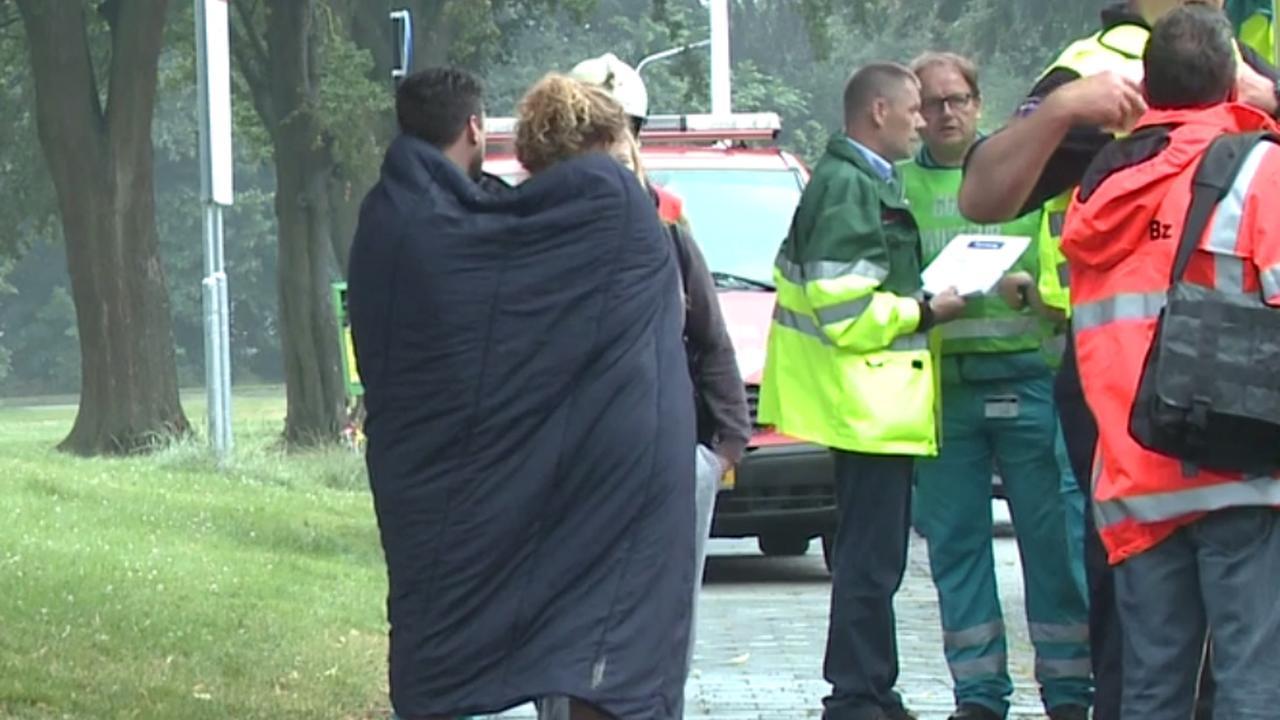 Zes mensen van balkon gered bij brand Maastricht
