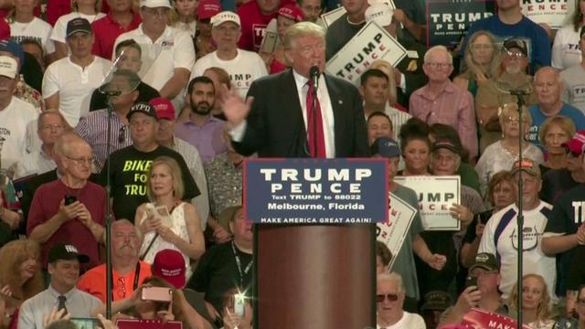 Trump zegt Clinton gespaard te hebben in debat