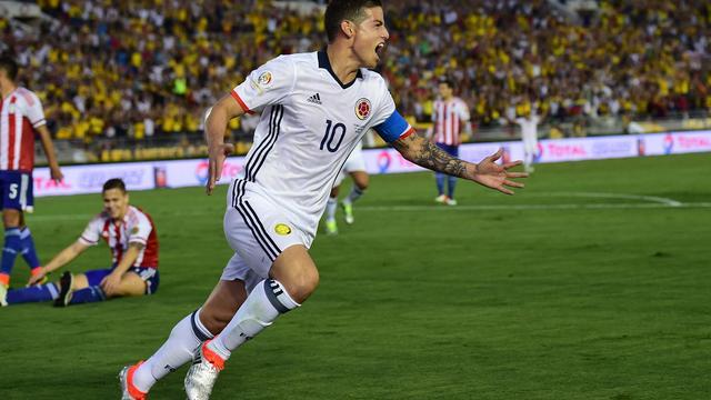 Colombia wint weer in Copa America dankzij goal en assist James Rodriguez