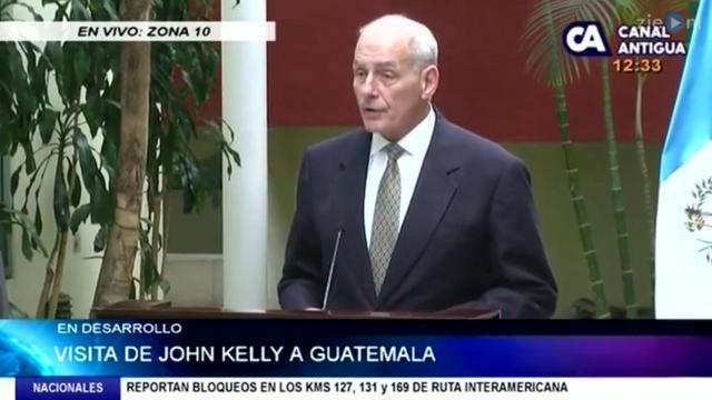 Minister Binnenlandse Veiligheid VS: reis niet illegaal van Guatemala naar VS