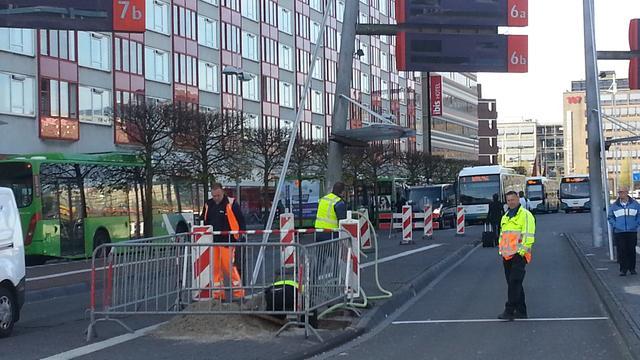 Reisinformatiesysteem busstation Leiden Centraal wordt opgeknapt