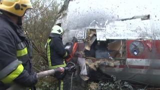 Oekraïens vliegtuig crasht door gebrek aan brandstof