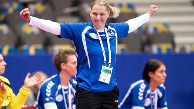Helle Thomsen blijft tot EK 2018 bondscoach handbalsters
