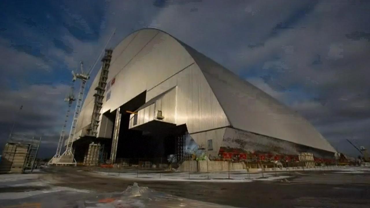 Nieuw omhulsel kerncentrale Tsjernobyl bijna klaar