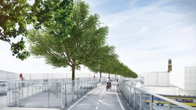 Groot deel Moreelsebrug komend weekend geplaatst