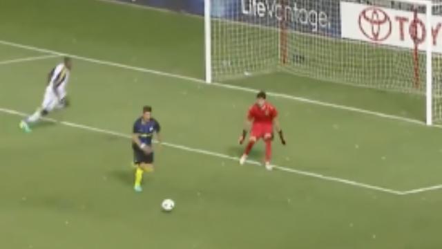 Jovetić scoort goal voor Internazionale met slim hakje