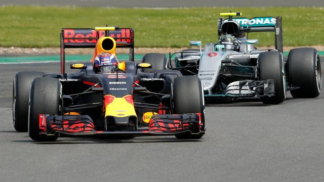 Tweede plek Verstappen op Silverstone zeker na intrekken beroep Mercedes