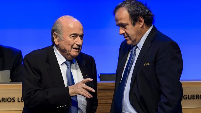 FIFA schorst Blatter en Platini voor acht jaar