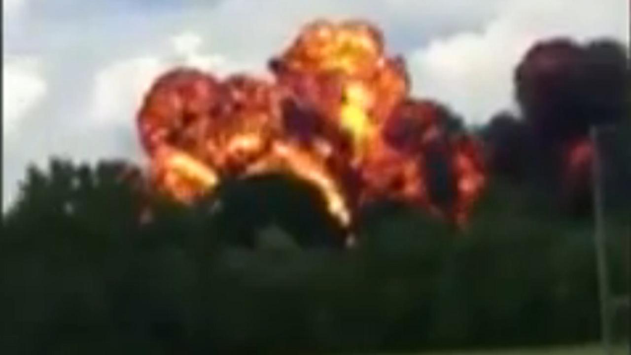 Video opgedoken van straaljagercrash tijdens luchtshow VS
