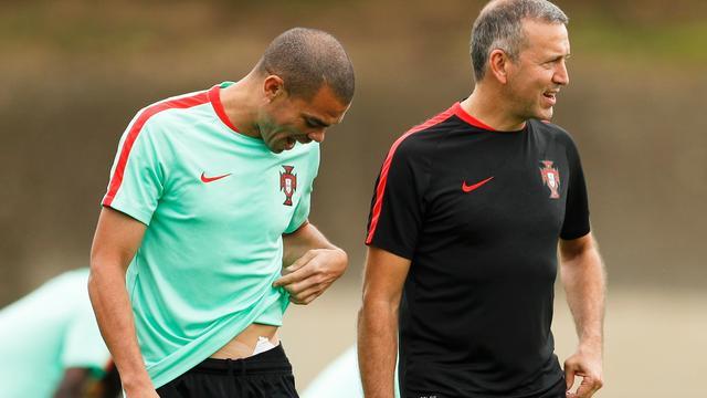 Portugal mogelijk zonder Pepe in halve finale tegen Wales