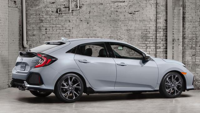 Honda Civic Hatchback onthuld