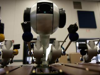 Robot bestudeerde vijfduizend bestaande nummers