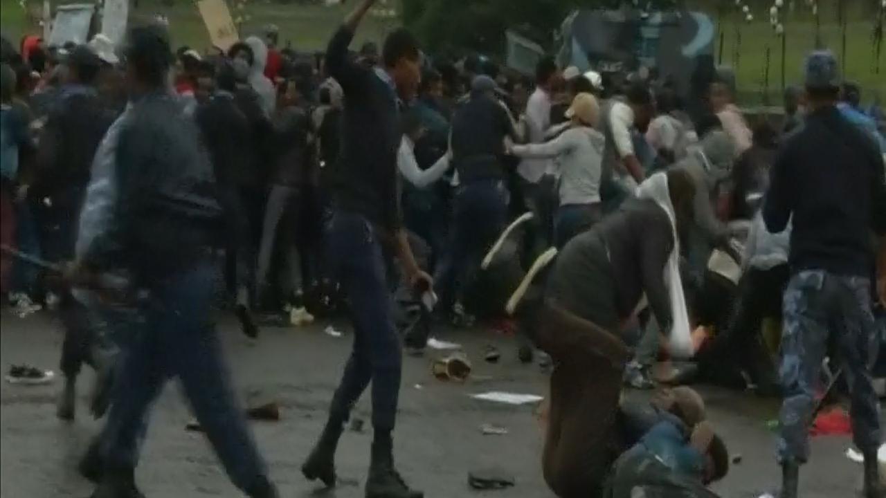 Doden bij massale betogingen in Ethiopië
