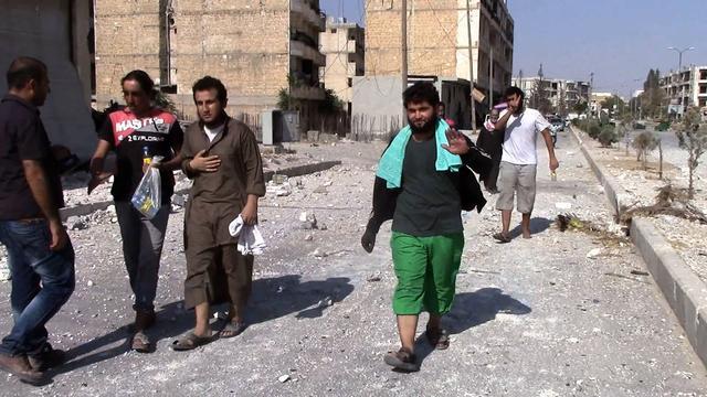 Duizenden Syriërs keren terug naar heroverde stad Manbij