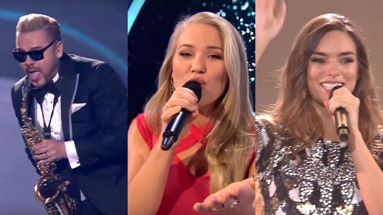 Drie directe concurrenten van OG3NE in de finale van het Songfestival