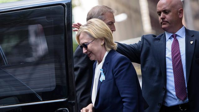 Campagne Clinton week stilgelegd vanwege longontsteking