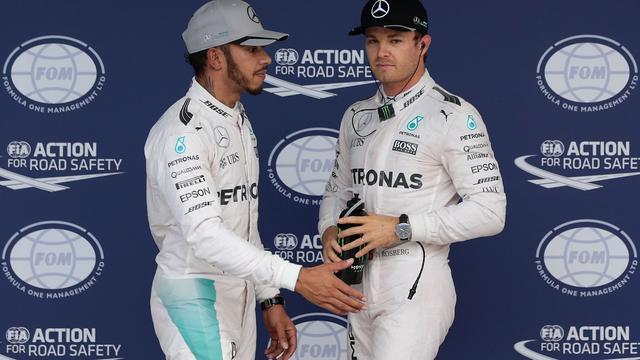 Hamilton vindt dat pech enige verschil is tussen hem en Rosberg