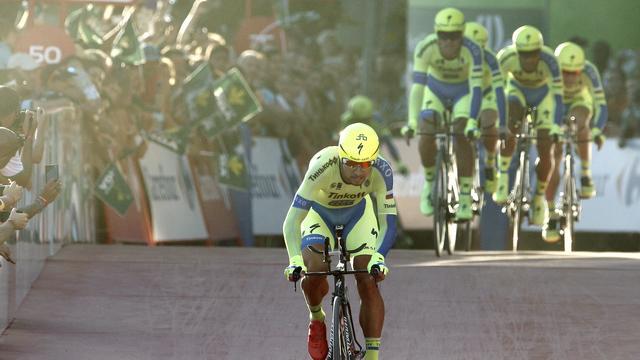 Tinkoff sterkste in ploegentijdrit Ronde van Kroatië