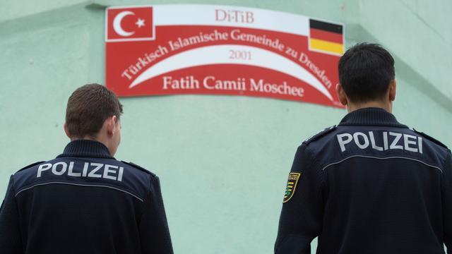 Extra beveiliging voor moslimcentra in Dresden na explosies