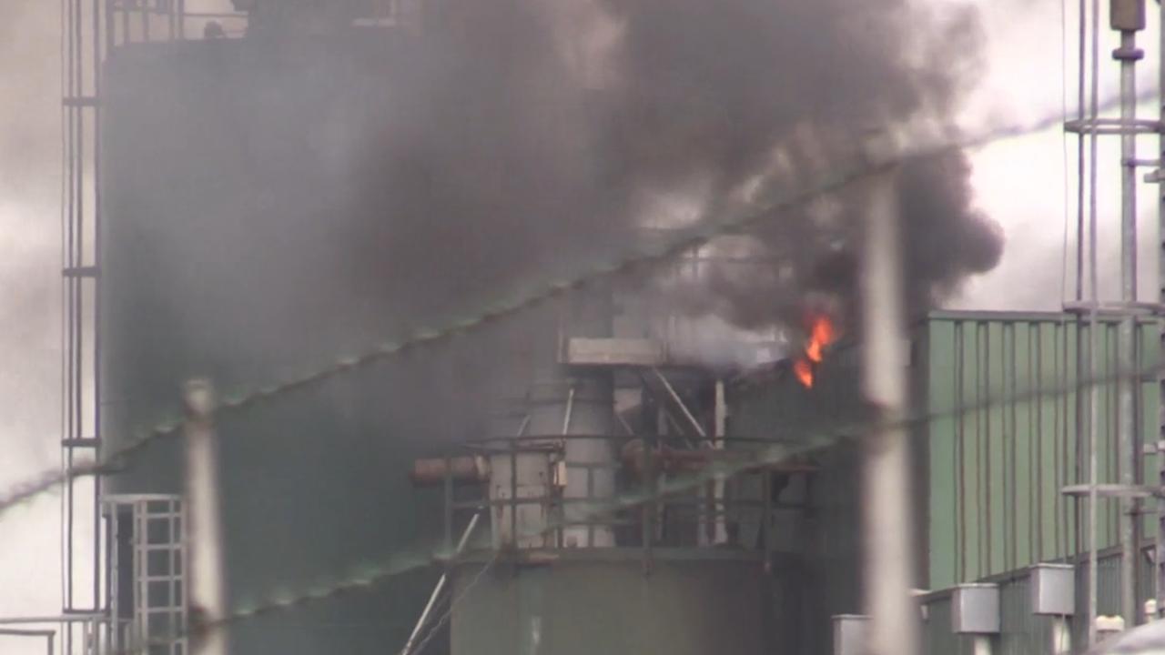 Zeer grote brand in ijzergieterij Terborg