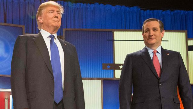 Cruz en Trump winnen voor Republikeinen tijdens 'Super Saturday'