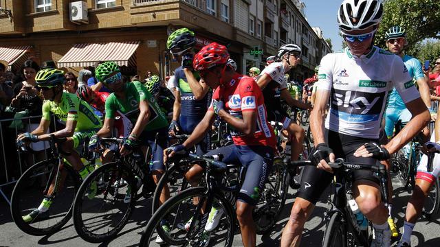 Liveticker Vuelta: Froome weet Quintana niet te lossen (gesloten)