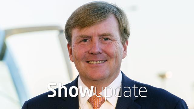 Show Update: Koning Willem-Alexander kijkt uit naar Abraham