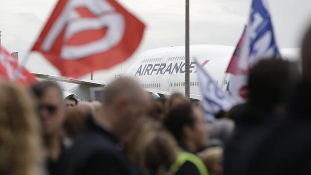 'Air France presenteert saneringsplannen'