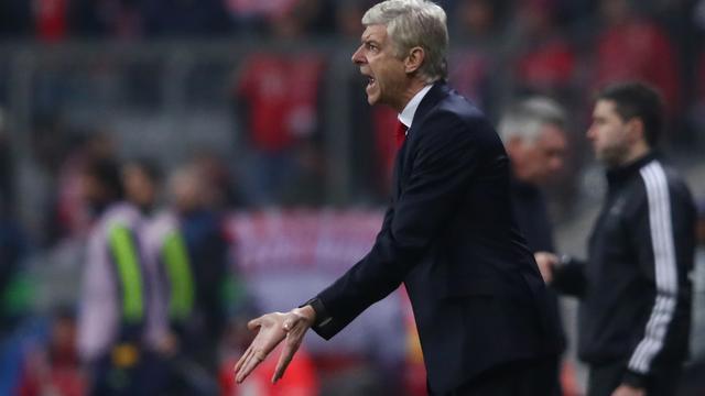 Wenger ervaart laatste 25 minuten tegen Bayern als 'nachtmerrie'