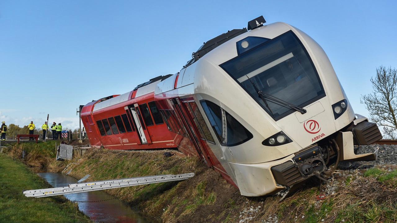Volgens ProRail blijft spoor bij Winsum nog dagen dicht