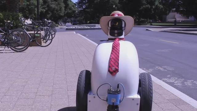 Robot moet ongeschreven regels van voetgangers leren kennen