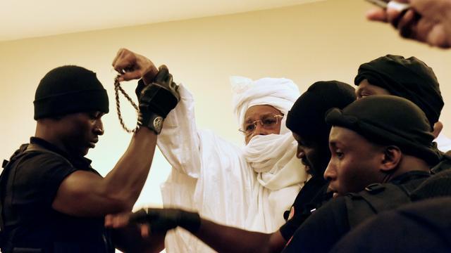 Oud-dictator Tsjaad krijgt levenslang voor misdrijven tegen menselijkheid