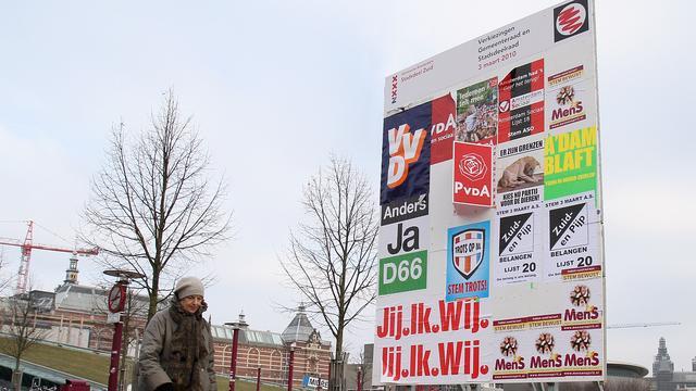 Posters plakken niet meer nodig bij verkiezingen