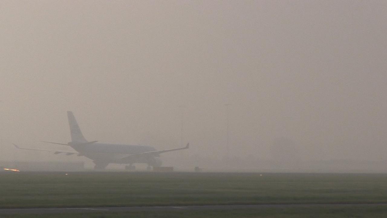 Mist rondom Schiphol veroorzaakt vertragingen