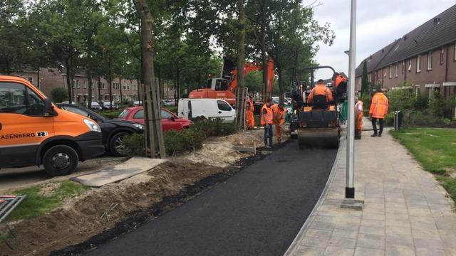 Aanbrengen tweede asfaltlaag op fietspad bij Heggemus uitgesteld