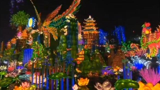 Chinese stad ruim maand in het teken van groot lichtfestival