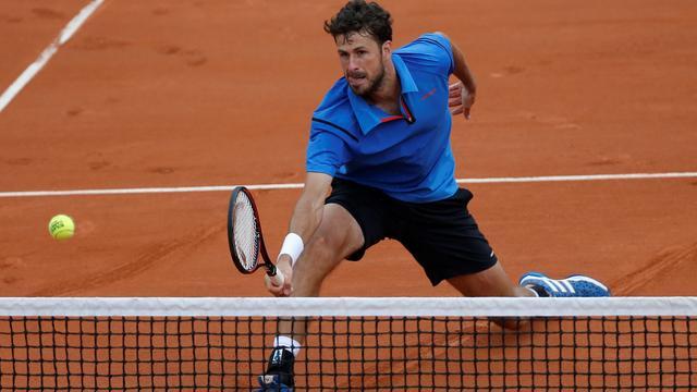 Haase buigt na vijf sets voor Sock in eerste ronde Roland Garros