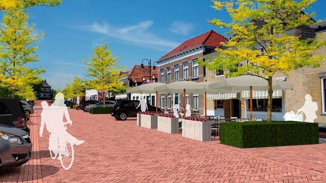 Tweede fase werk Voorstraat in Fijnaart gaat van start