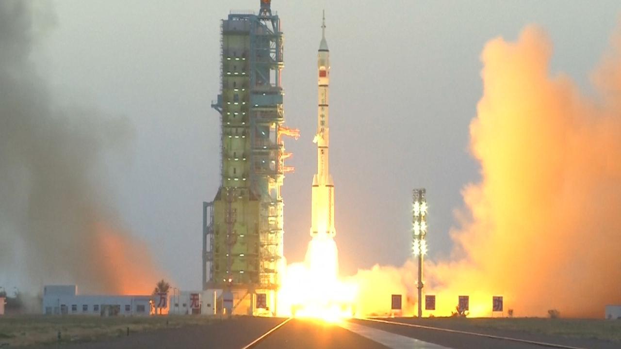 Eerste bemande Chinese ruimteschip sinds 2013 gelanceerd